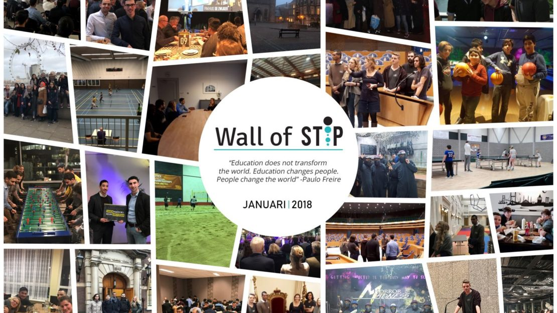 Wall of Stip - Januari 2018