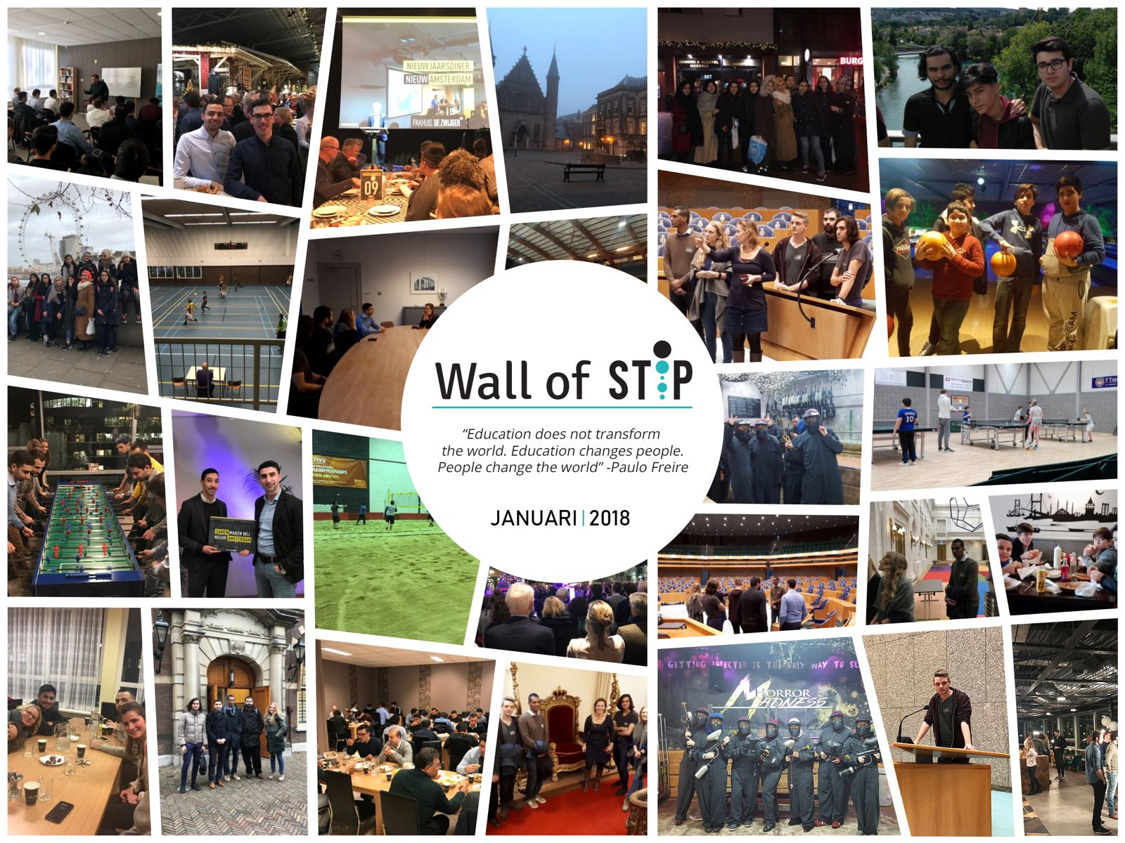 Wall of Stip - Januari 2018