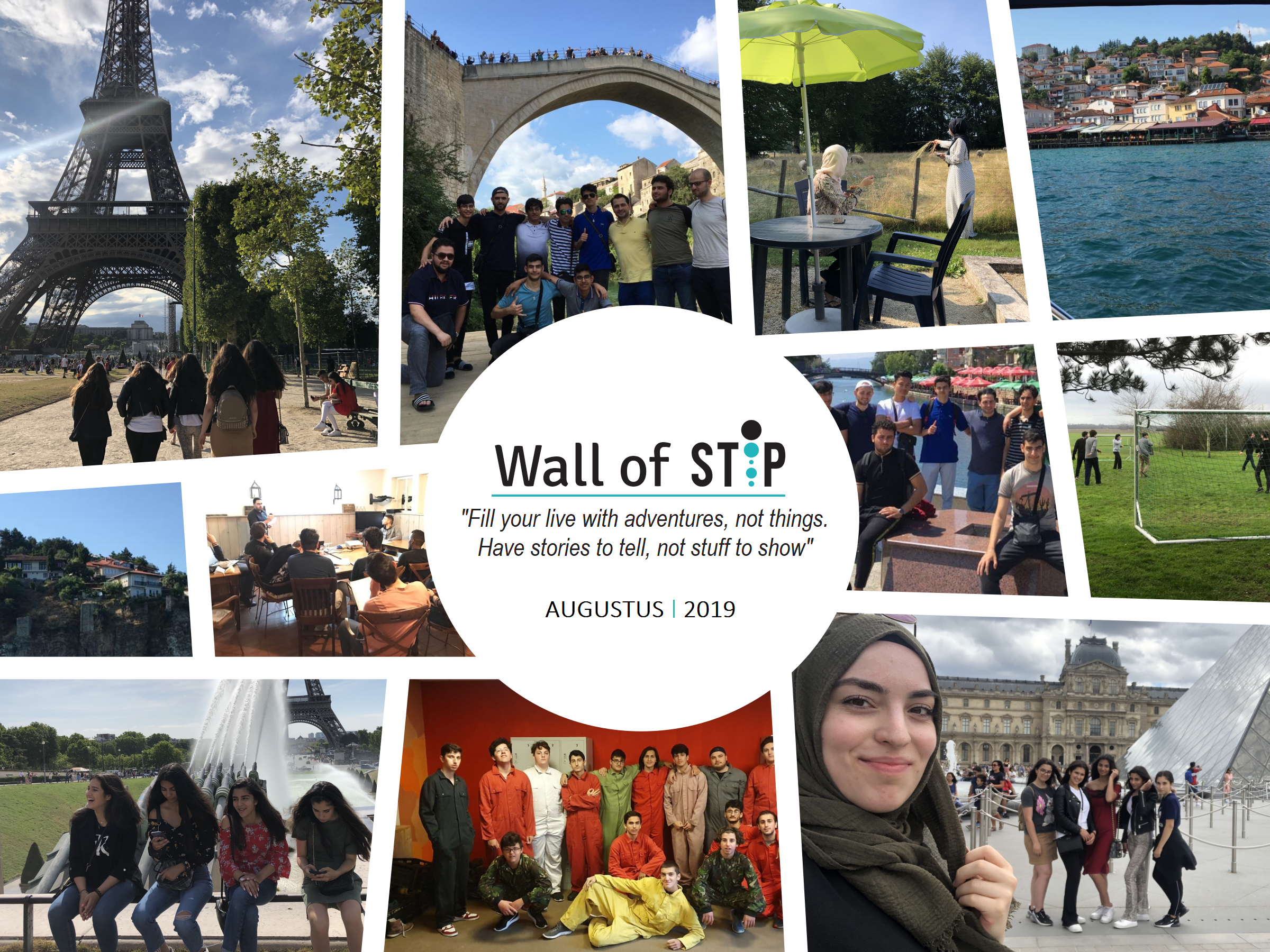 Wall of Stip - Augustus 2019