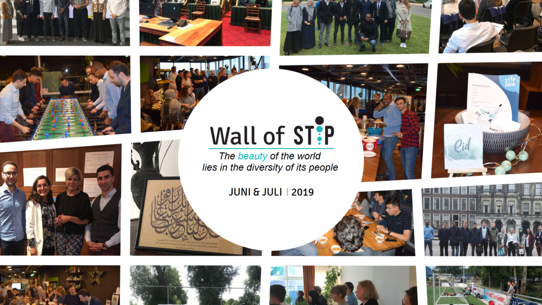 Wall of Stip - Juni & Juli 2019