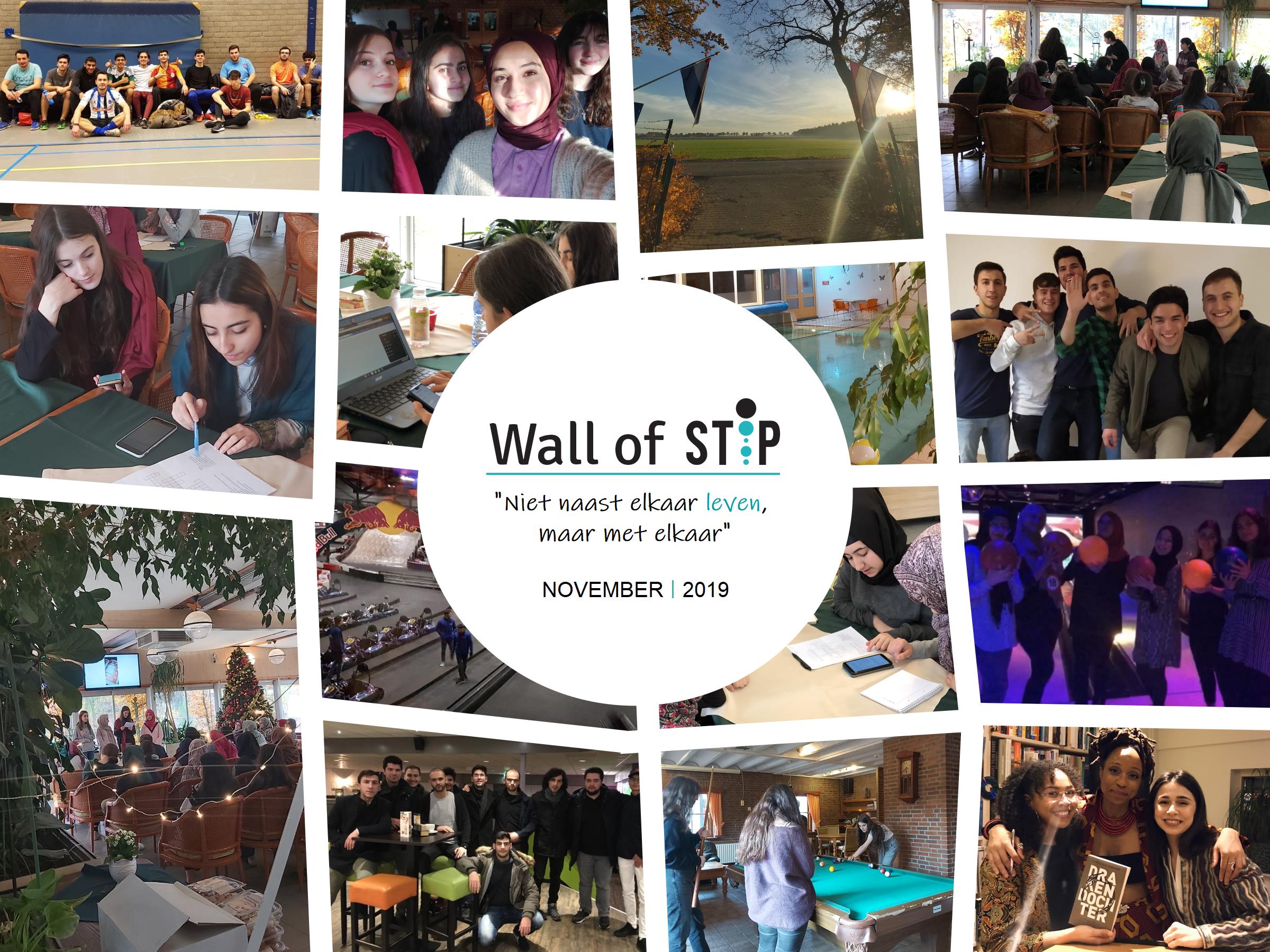 Wall of Stip - November 2019